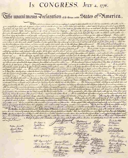 how thomas jefferson created a clear vision of life in america in the declaration of independence Religious ideas in the declaration of independence: thomas jefferson, john locke, and the american mind  end of his life, jefferson  men are created equal .