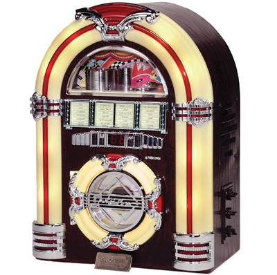 Pictures of 1950s Jukebox http://www.rodneyohebsion.com/1950s-conspiracy.htm